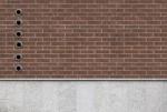 Brown brick wall - 03
