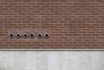 Brown brick wall - 04