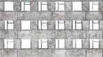 Facade with broken windows - 05