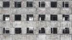 Facade with broken windows - 06