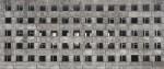 Facade with broken windows - 08