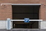 Gate to the parking